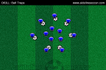 Ball Traps Soccer Diagram