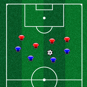 Interactive Soccer Diagram