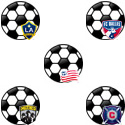 Major League Soccer Logo Icons