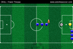 Power Finesse Soccer Drill