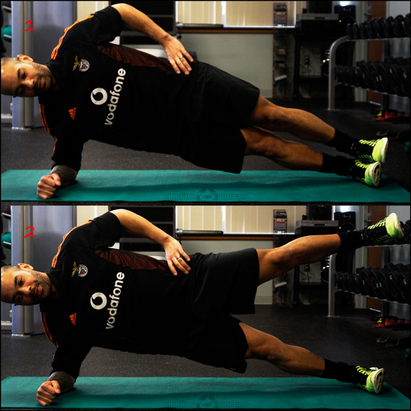 Side Plank Hip Abduction