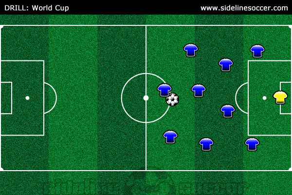 World Cup Soccer Drill